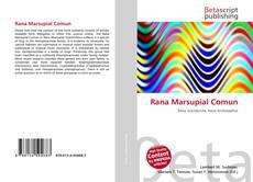 Rana Marsupial Comun kitap kapağı