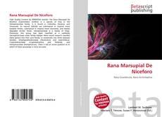 Bookcover of Rana Marsupial De Niceforo
