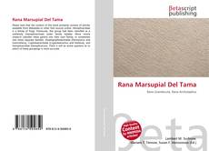 Rana Marsupial Del Tama kitap kapağı