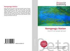 Namgongju Station kitap kapağı