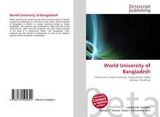 Bookcover of World University of Bangladesh
