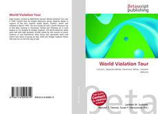 Bookcover of World Violation Tour