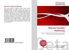 Bookcover of Warren Franklin Hatheway