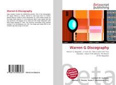 Warren G Discography的封面