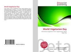 Couverture de World Vegetarian Day