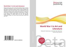 Capa do livro de World War I in Art and Literature