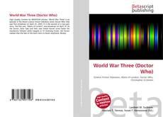 Borítókép a  World War Three (Doctor Who) - hoz