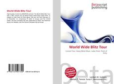 Обложка World Wide Blitz Tour