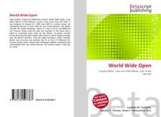 Обложка World Wide Open