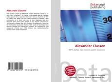 Capa do livro de Alexander Classen