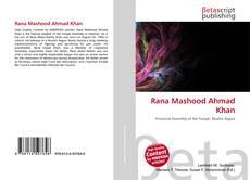 Bookcover of Rana Mashood Ahmad Khan