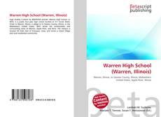 Bookcover of Warren High School (Warren, Illinois)