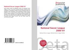 Portada del libro de National Soccer League 2000–01