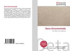 Bookcover of Rana Ornamentada
