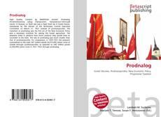 Bookcover of Prodnalog
