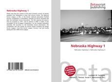 Bookcover of Nebraska Highway 1