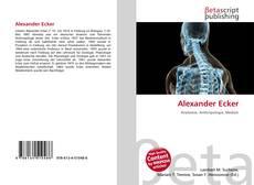 Buchcover von Alexander Ecker