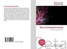 Bookcover of Rana Pseudodalmatina