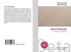 Bookcover of Rana Psilonota