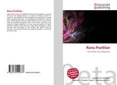 Bookcover of Rana Pueblae