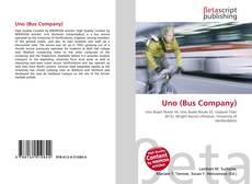 Portada del libro de Uno (Bus Company)