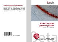 Buchcover von Alexander Egger (Eishockeyspieler)