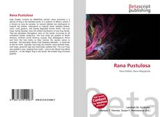 Rana Pustulosa的封面