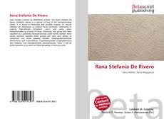 Portada del libro de Rana Stefania De Rivero