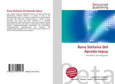 Rana Stefania Del Aprada-tepuy的封面