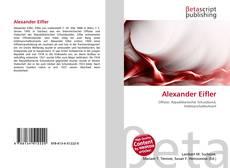 Обложка Alexander Eifler
