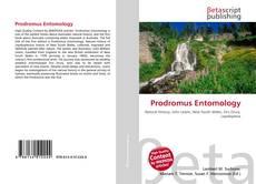 Bookcover of Prodromus Entomology