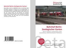 Portada del libro de Bahnhof Berlin-Zoologischer Garten