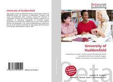 Bookcover of University of Huddersfield