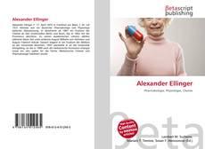 Обложка Alexander Ellinger
