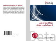 Alexander Elliot Anderson Salmond kitap kapağı