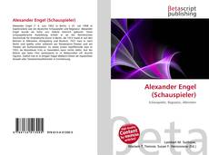 Bookcover of Alexander Engel (Schauspieler)