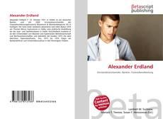 Buchcover von Alexander Erdland