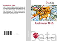 Capa do livro de Oranienburger Straße