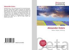 Bookcover of Alexander Esters