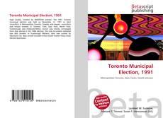 Toronto Municipal Election, 1991 kitap kapağı