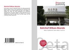 Buchcover von Bahnhof Bilbao-Abando