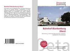 Bookcover of Bahnhof Blankenburg (Harz)