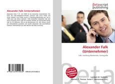 Buchcover von Alexander Falk (Unternehmer)
