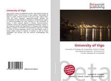 Portada del libro de University of Vigo