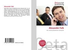 Buchcover von Alexander Falk
