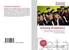 Portada del libro de University of Salamanca