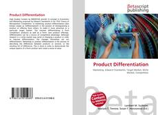 Bookcover of Product Differentiation