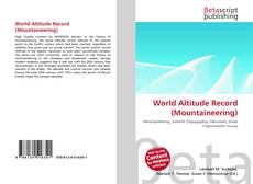 Bookcover of World Altitude Record (Mountaineering)