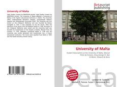 University of Malta的封面