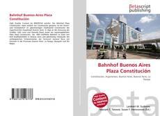 Bahnhof Buenos Aires Plaza Constitución kitap kapağı
